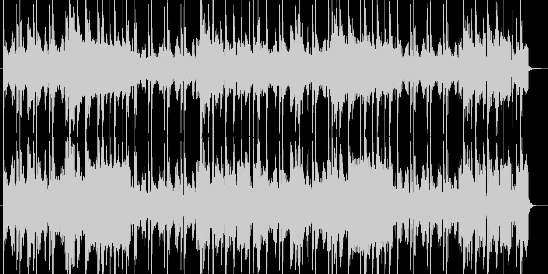 ヒップホップ風のファンキーなジングルの未再生の波形