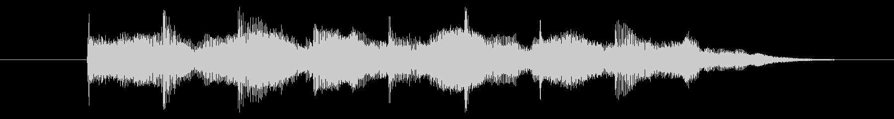 ゲームオーバー効果音 高めの音 失敗の未再生の波形
