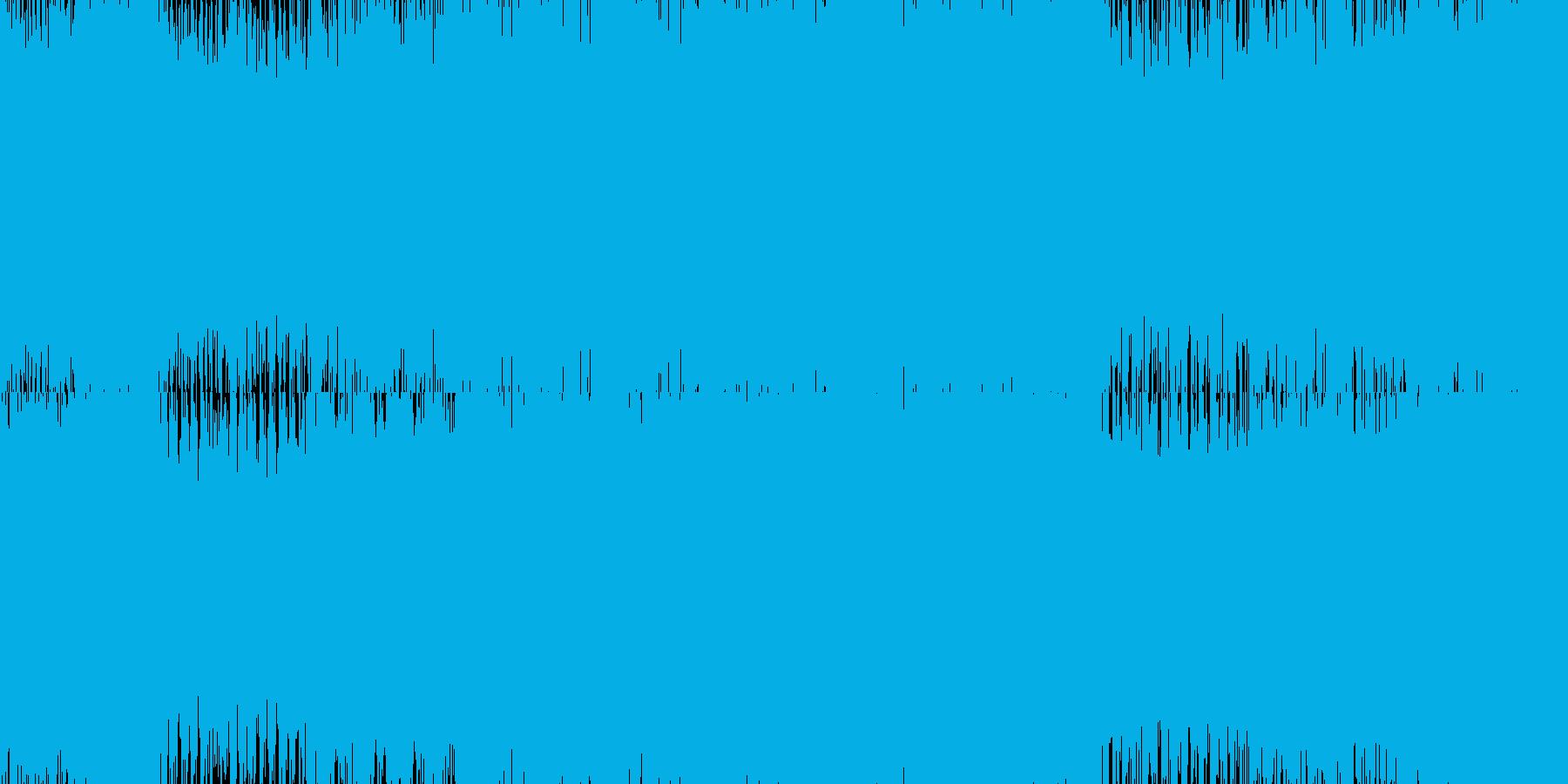 ギター+4つ打ちのループ曲です。の再生済みの波形