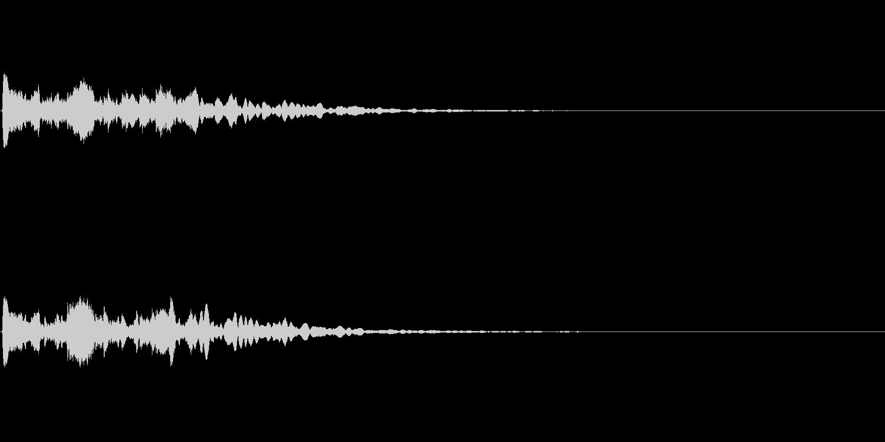 【サイバー02-1】の未再生の波形