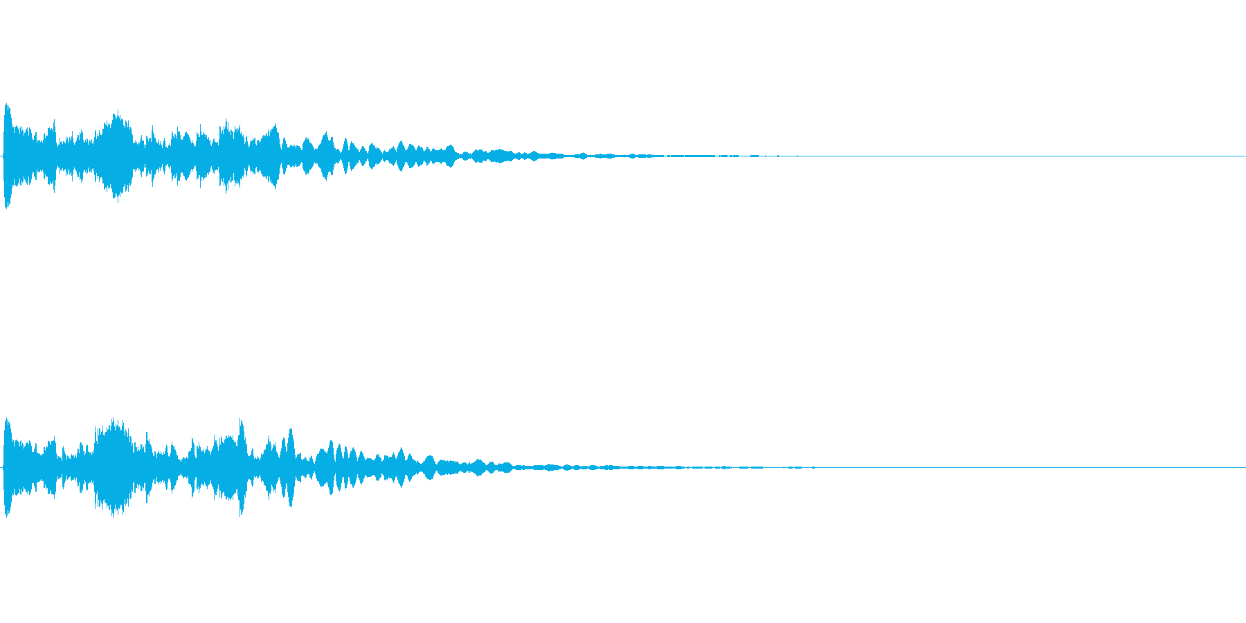 【サイバー02-1】の再生済みの波形