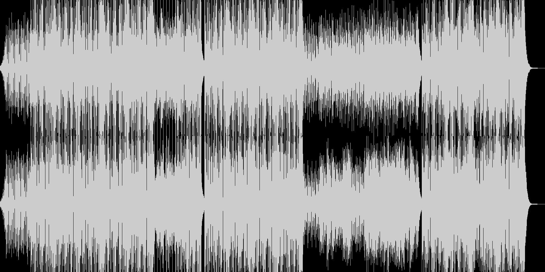 ご機嫌なジャズRBトラックの未再生の波形