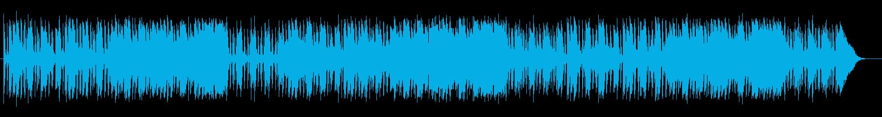 明るく軽やかなシンセピアノサウンドの再生済みの波形