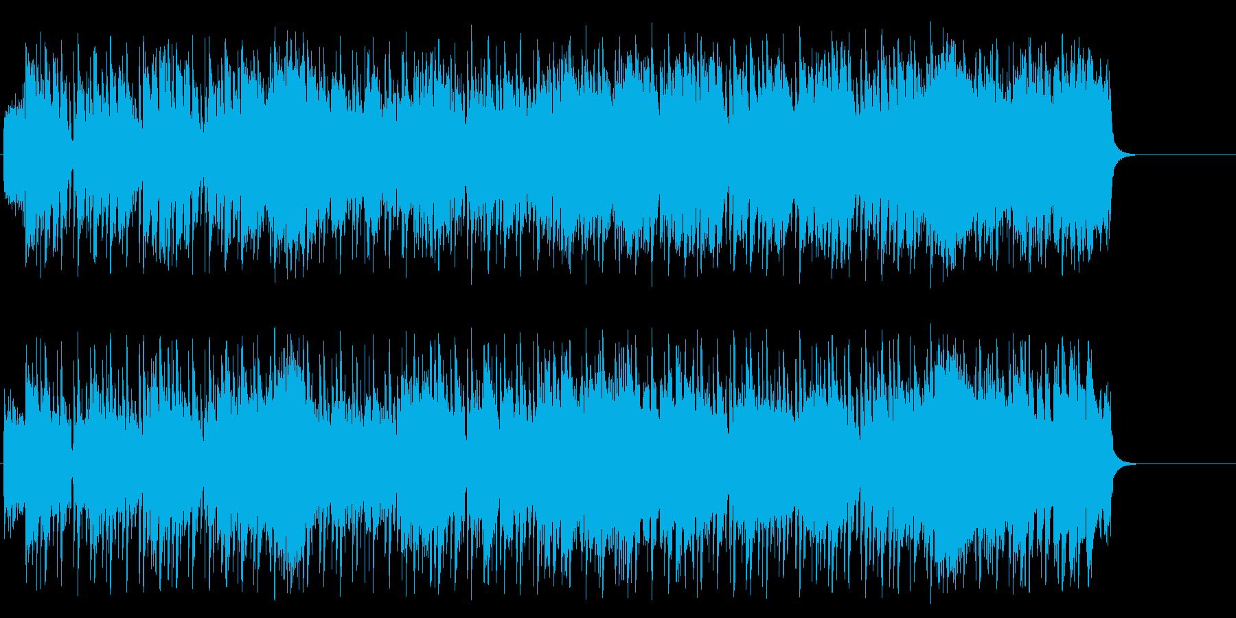 疾走感のあるスリリングでハデなファンクの再生済みの波形