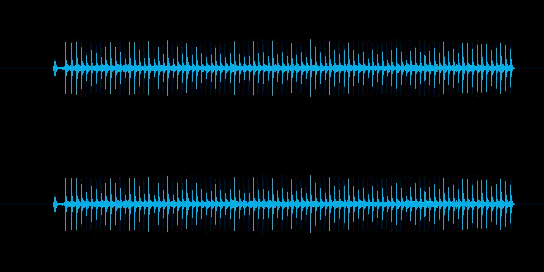ゲーム、クイズ(ブー音)_001の再生済みの波形