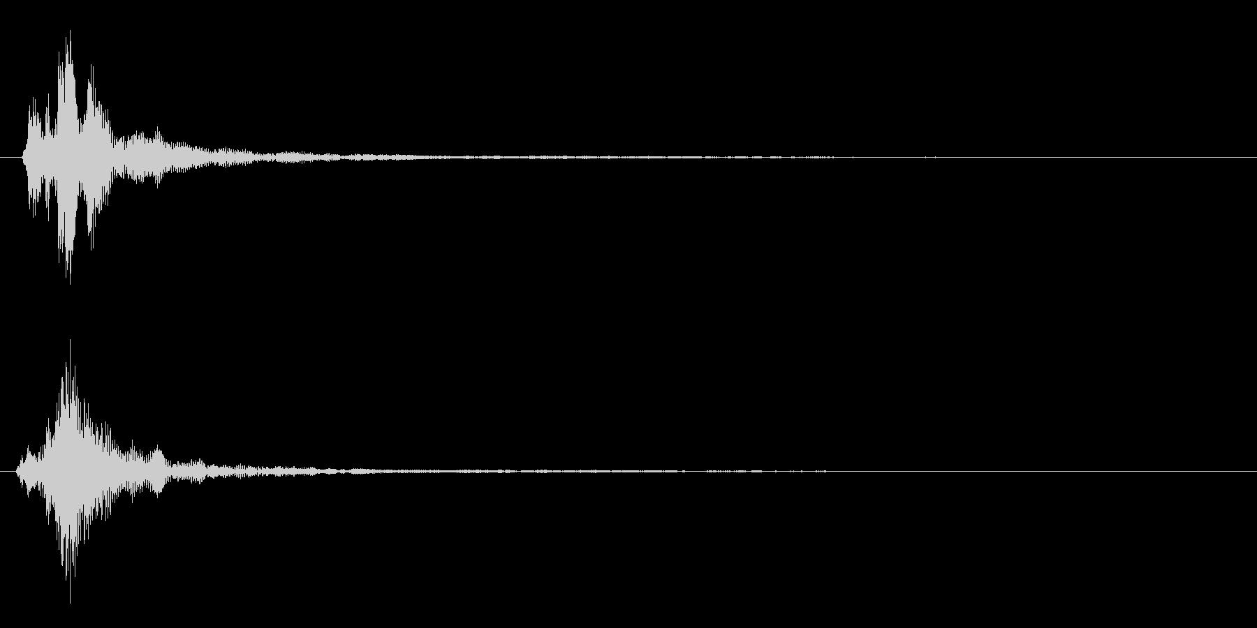 ちゃん(低)の未再生の波形