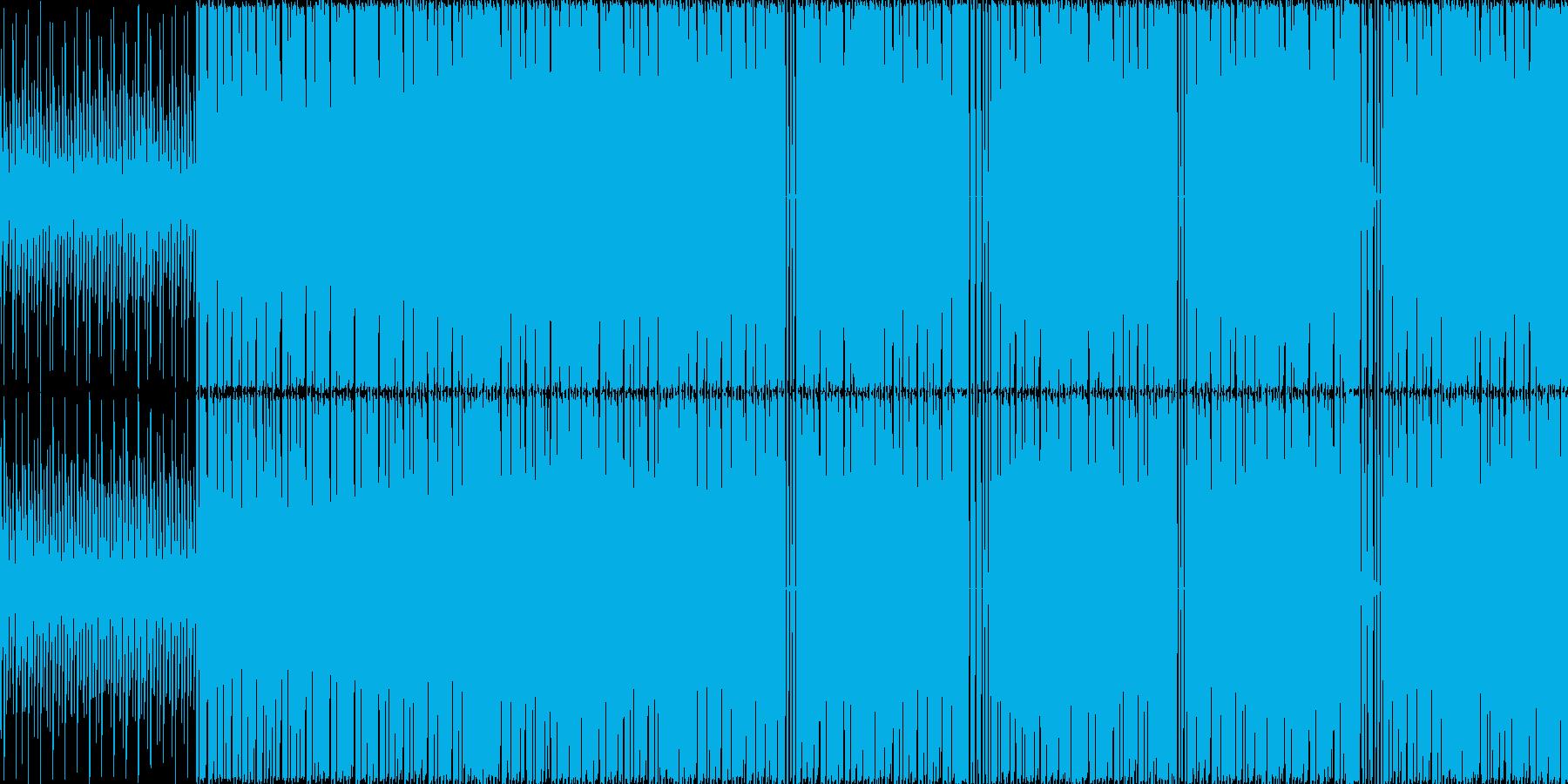 【サイバーな近未来感テクノ】の再生済みの波形