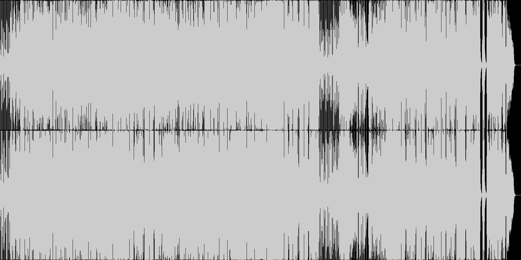 ブラスセクションのあるオールドロックの未再生の波形