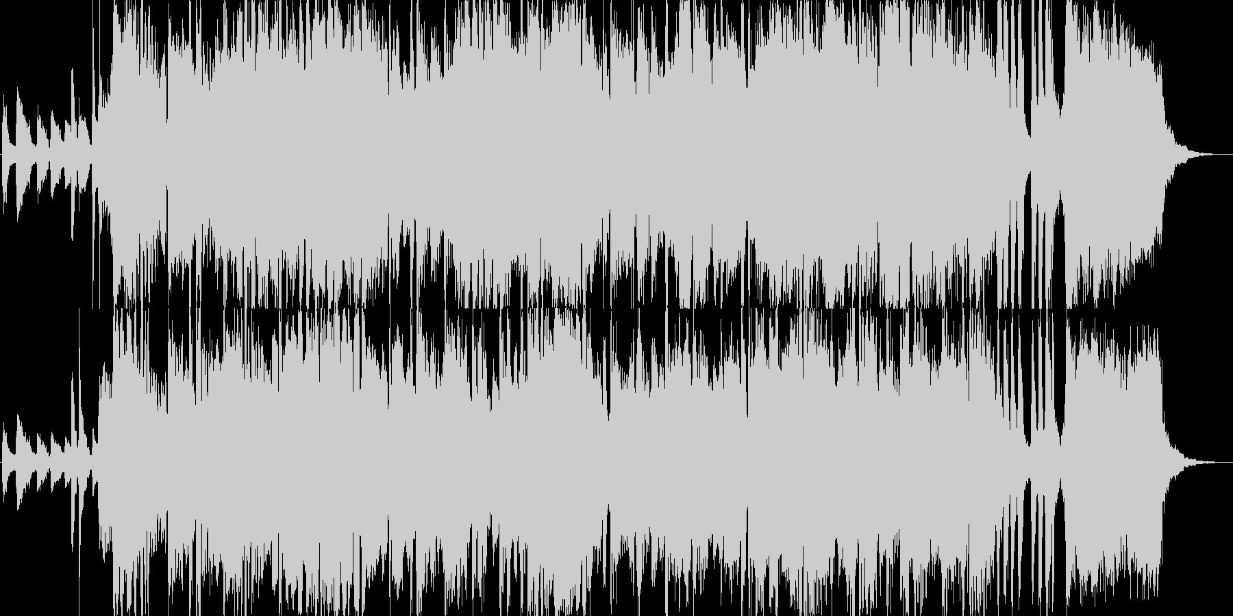 ボサノバ風の爽やかなジングルの未再生の波形