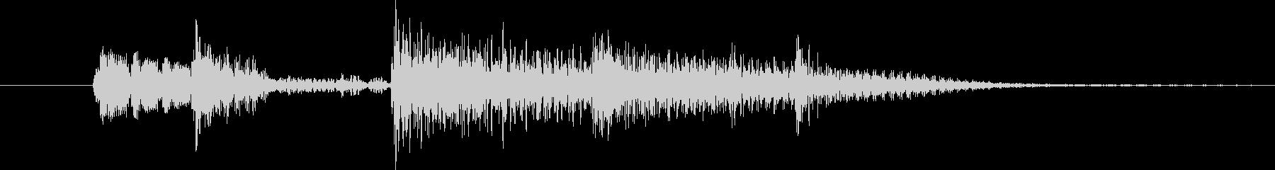 典型的なジャズ(5秒以内)の未再生の波形