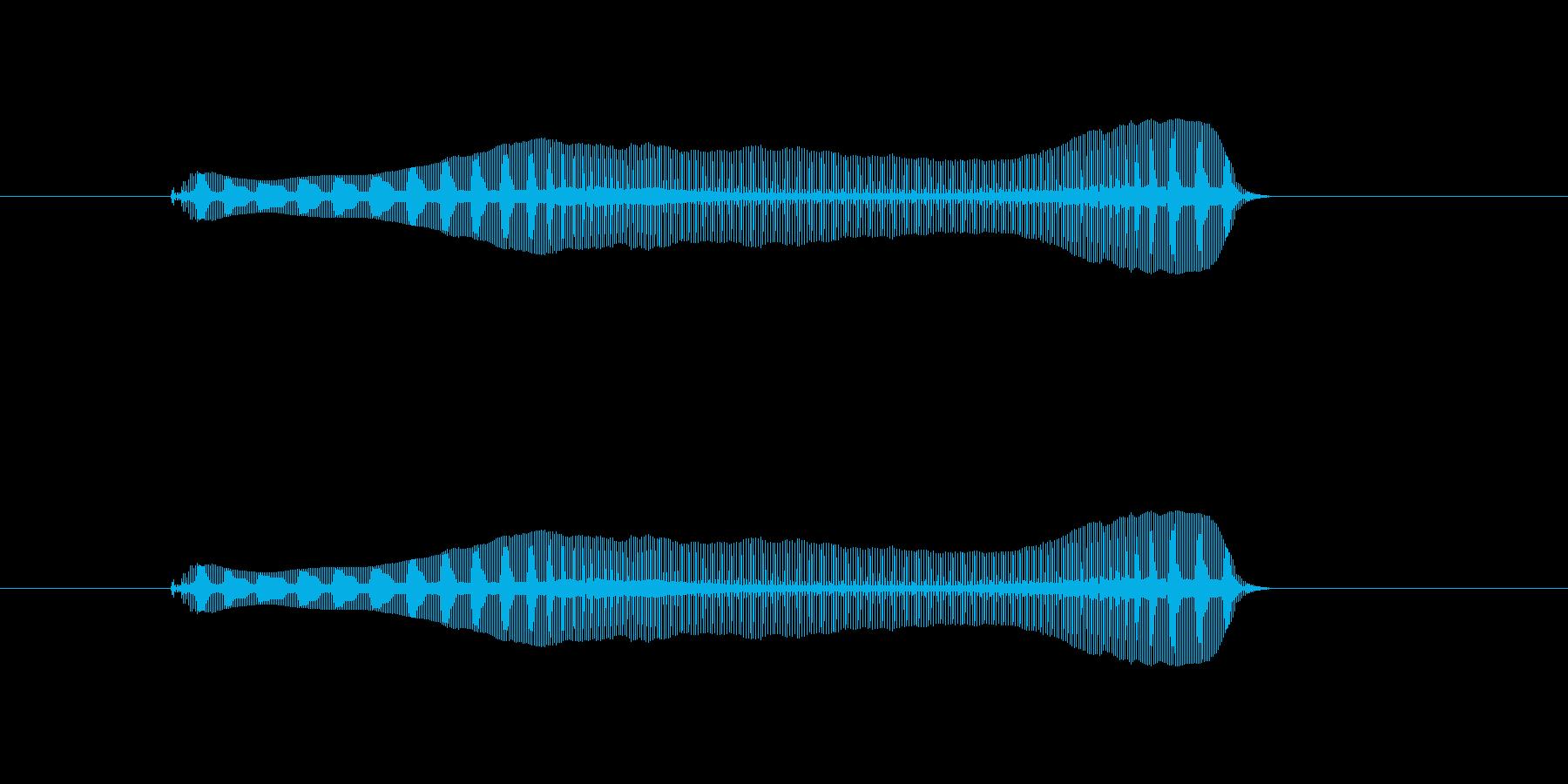 トロンボーンあるあるフレーズBPM100の再生済みの波形