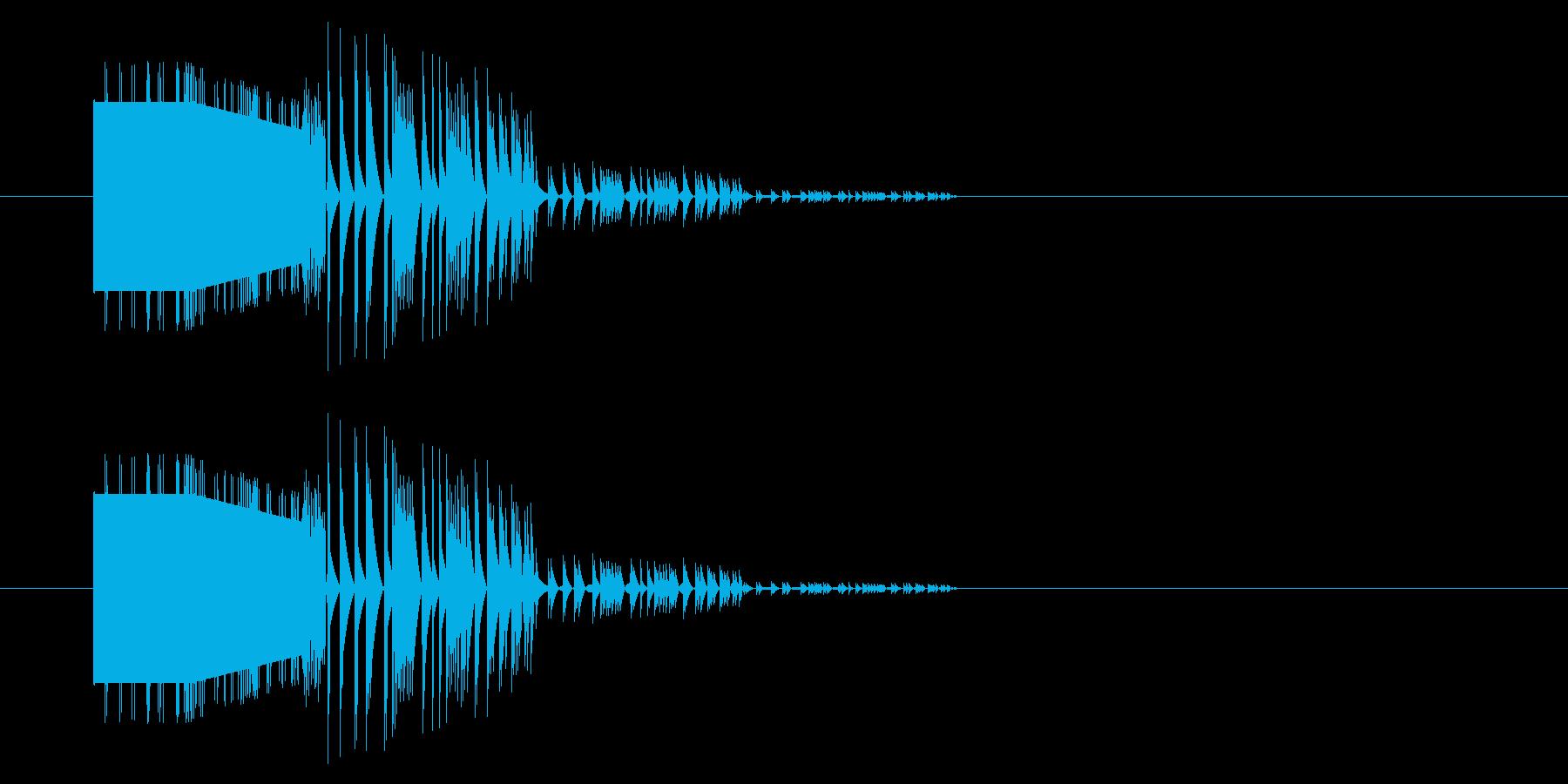 【GB アクション01-10(扉)】の再生済みの波形