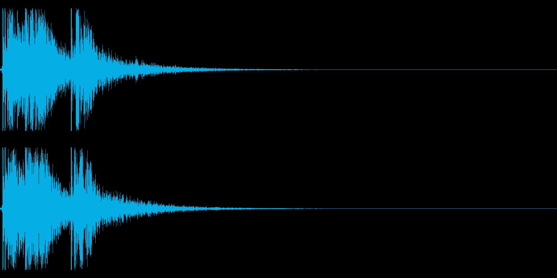 エアホッケーの効果音 01の再生済みの波形
