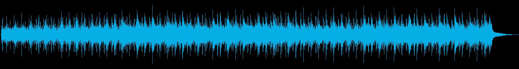 美しい透明感サウンドの再生済みの波形