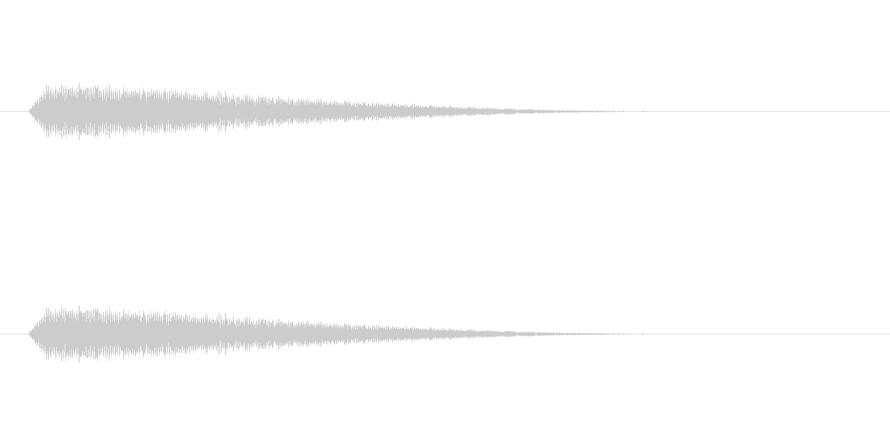 【光る03-2】の未再生の波形