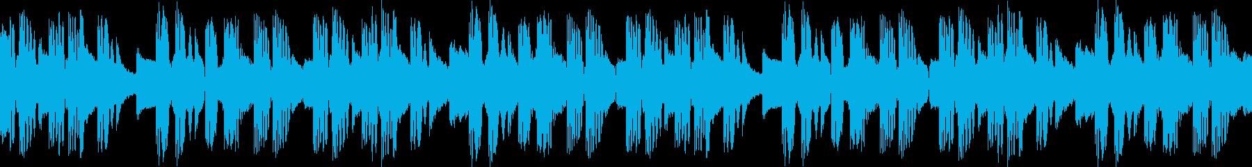 【ピアノ】キュン、切なげビート【ドラマ】の再生済みの波形