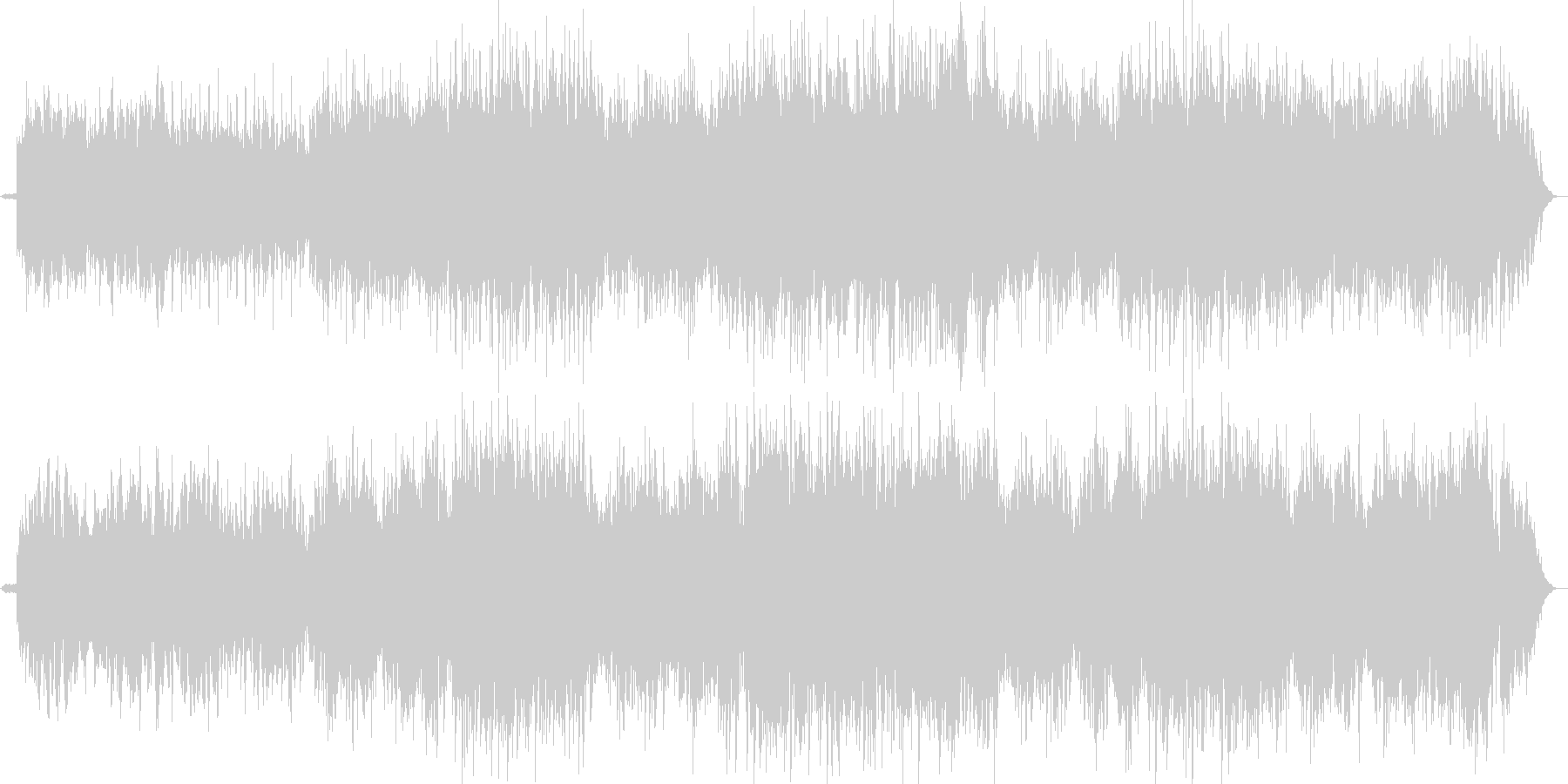壮大な可憐でメロディアスなピアノバラードの未再生の波形