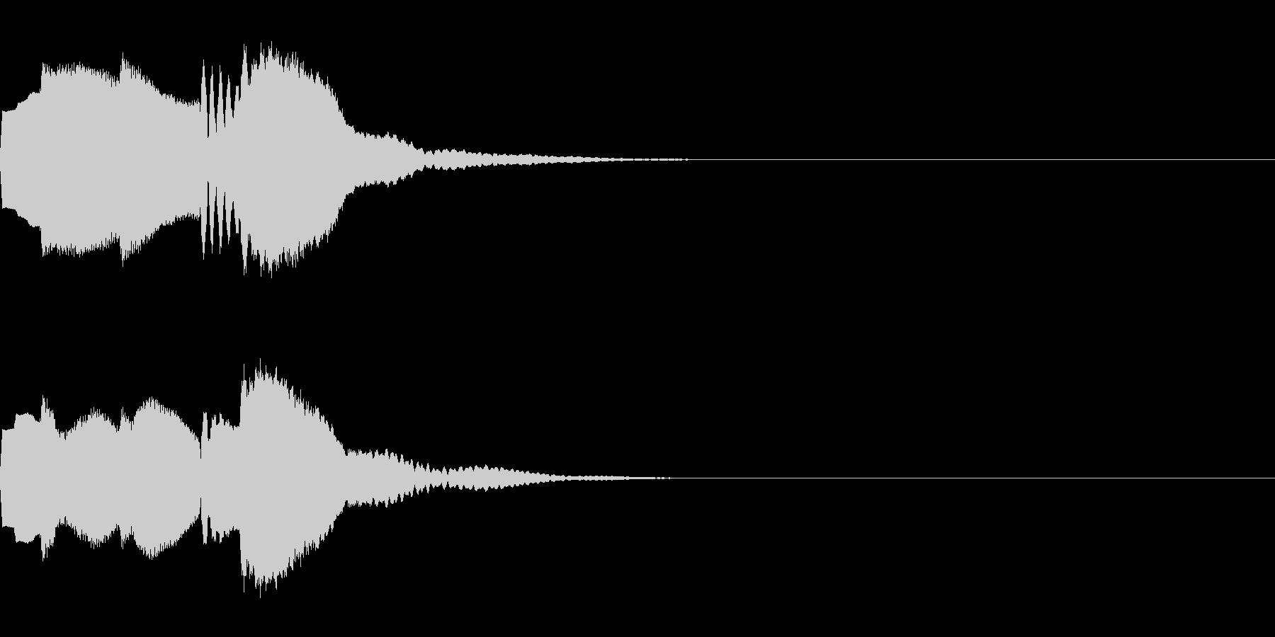 決定音68_シンセAIの未再生の波形