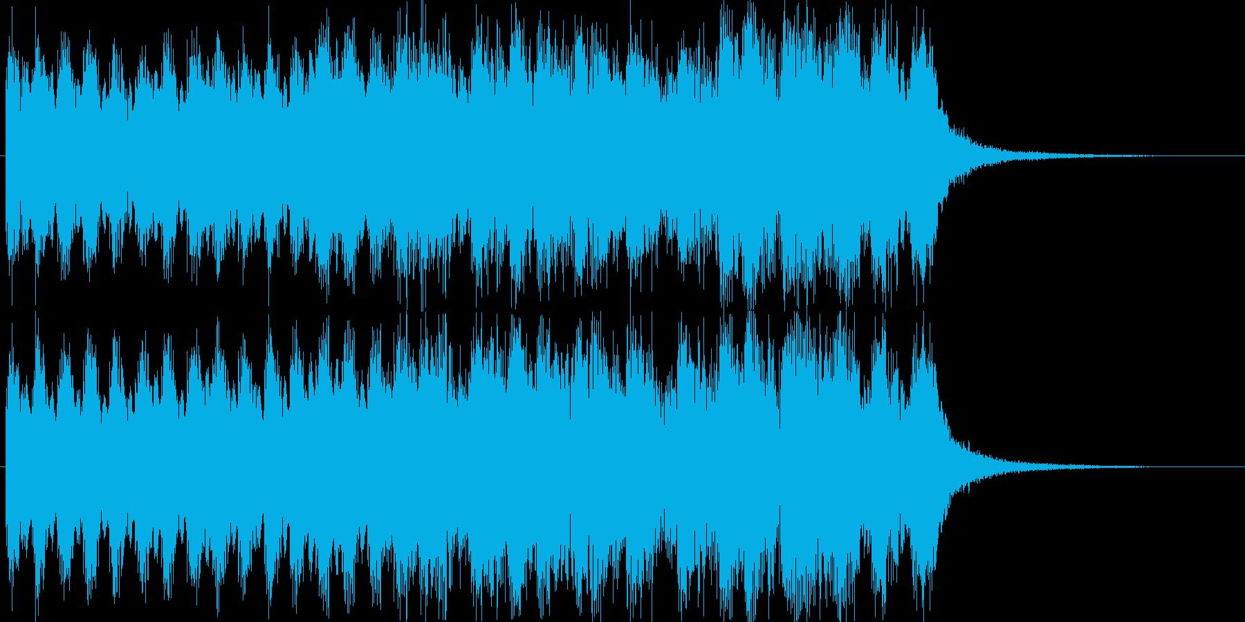 出囃子チャイナ二胡アジアCM入場の再生済みの波形