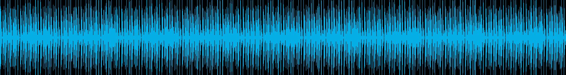 HOUSE/EDM風 リズムループの再生済みの波形