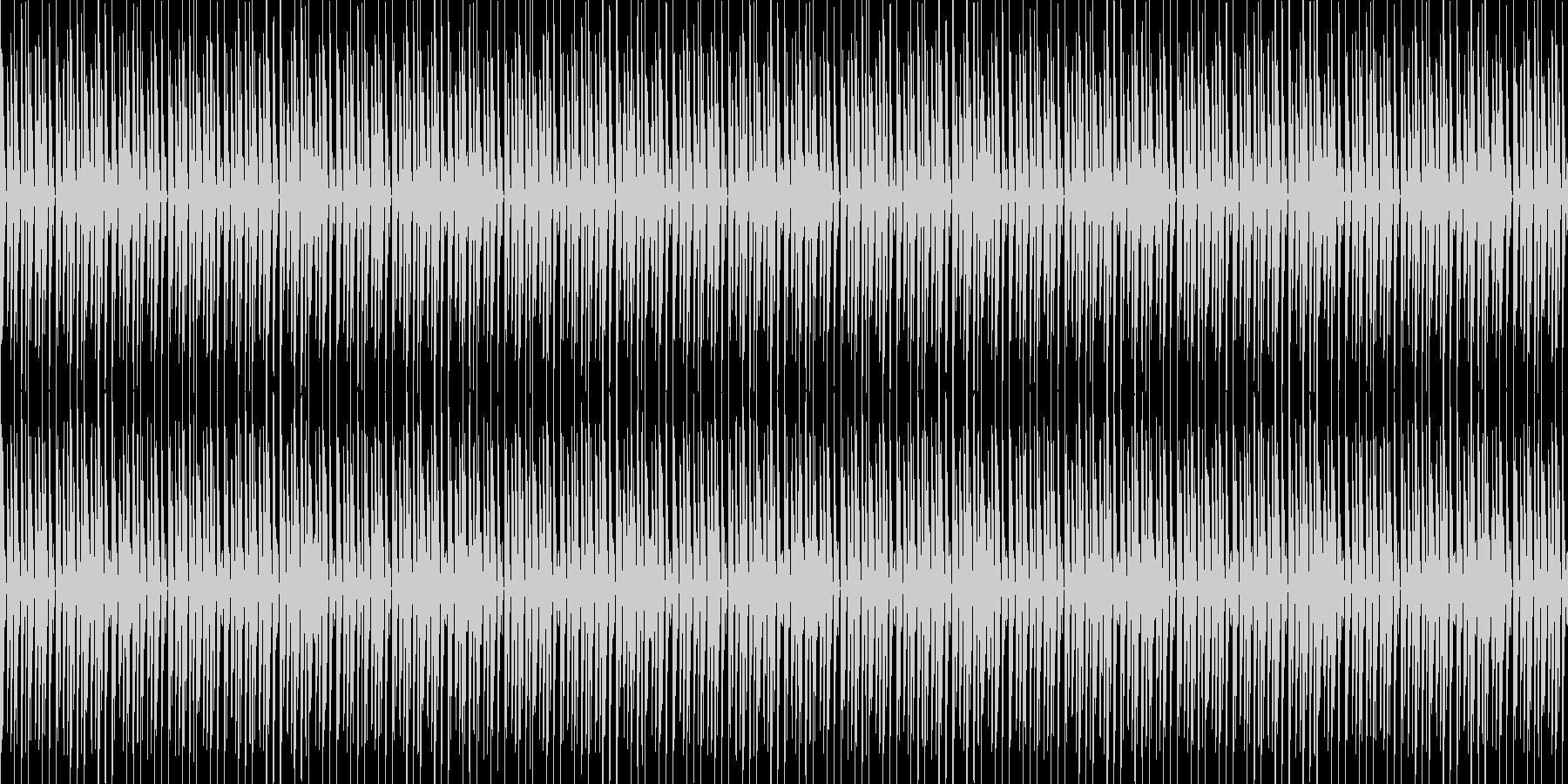 HOUSE/EDM風 リズムループの未再生の波形