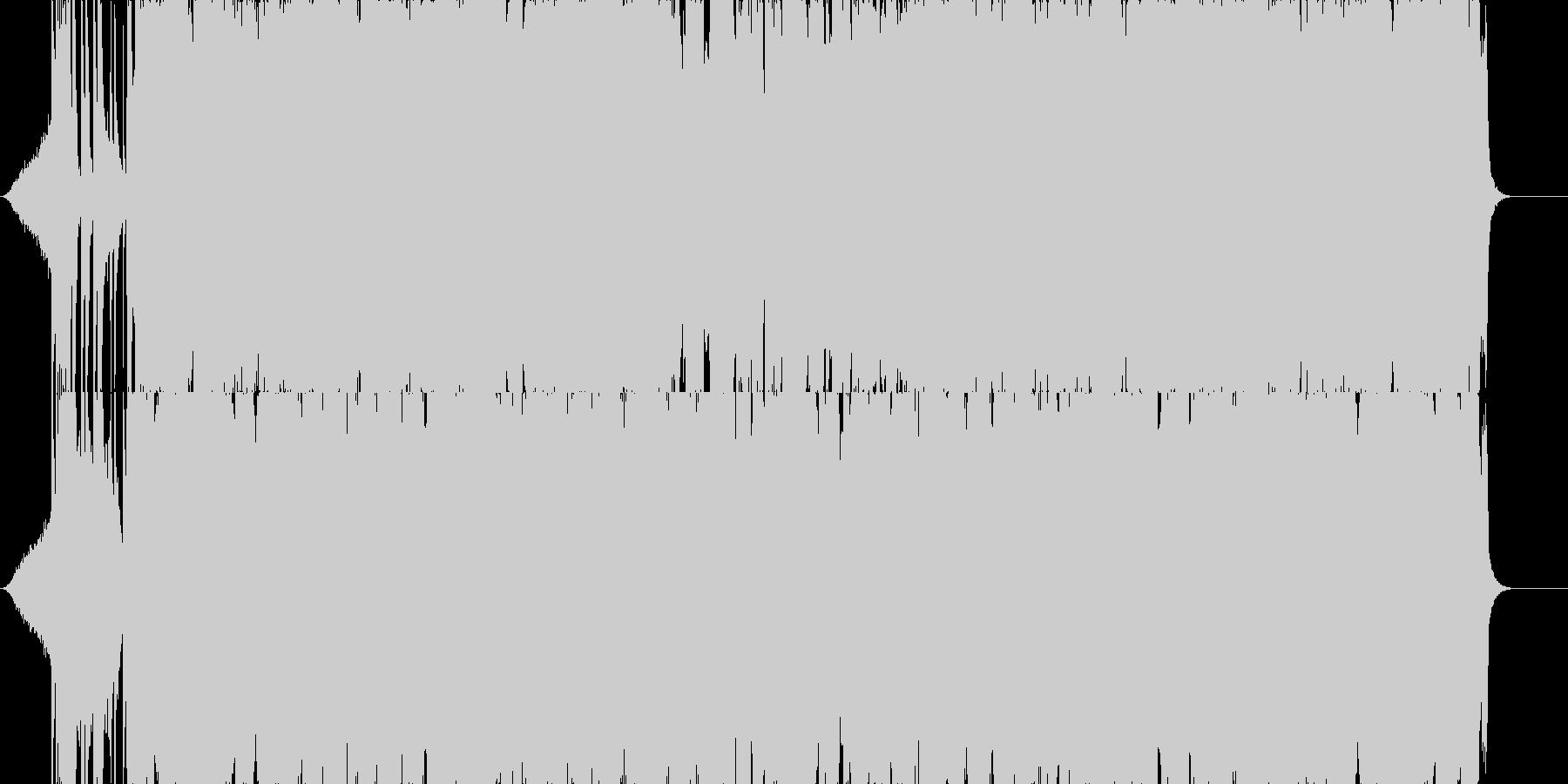 映像系逆転したときに流れそうな曲の未再生の波形