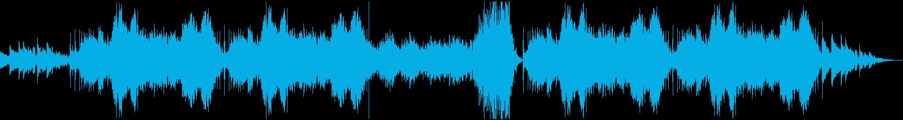 インドの楽器を使った オリエンタルの再生済みの波形