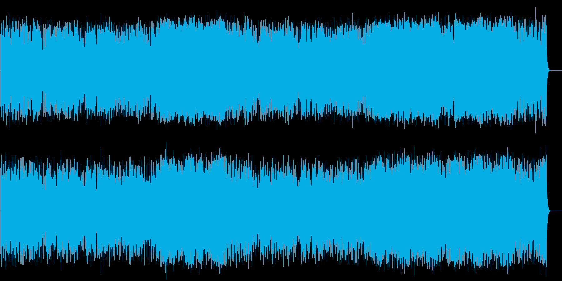 元気で軽快なポップス(フルサイズ)の再生済みの波形