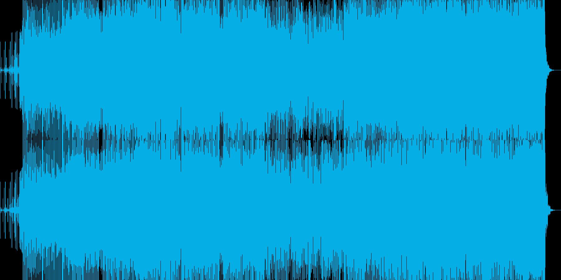 アシッドハウスミュージックその1の再生済みの波形