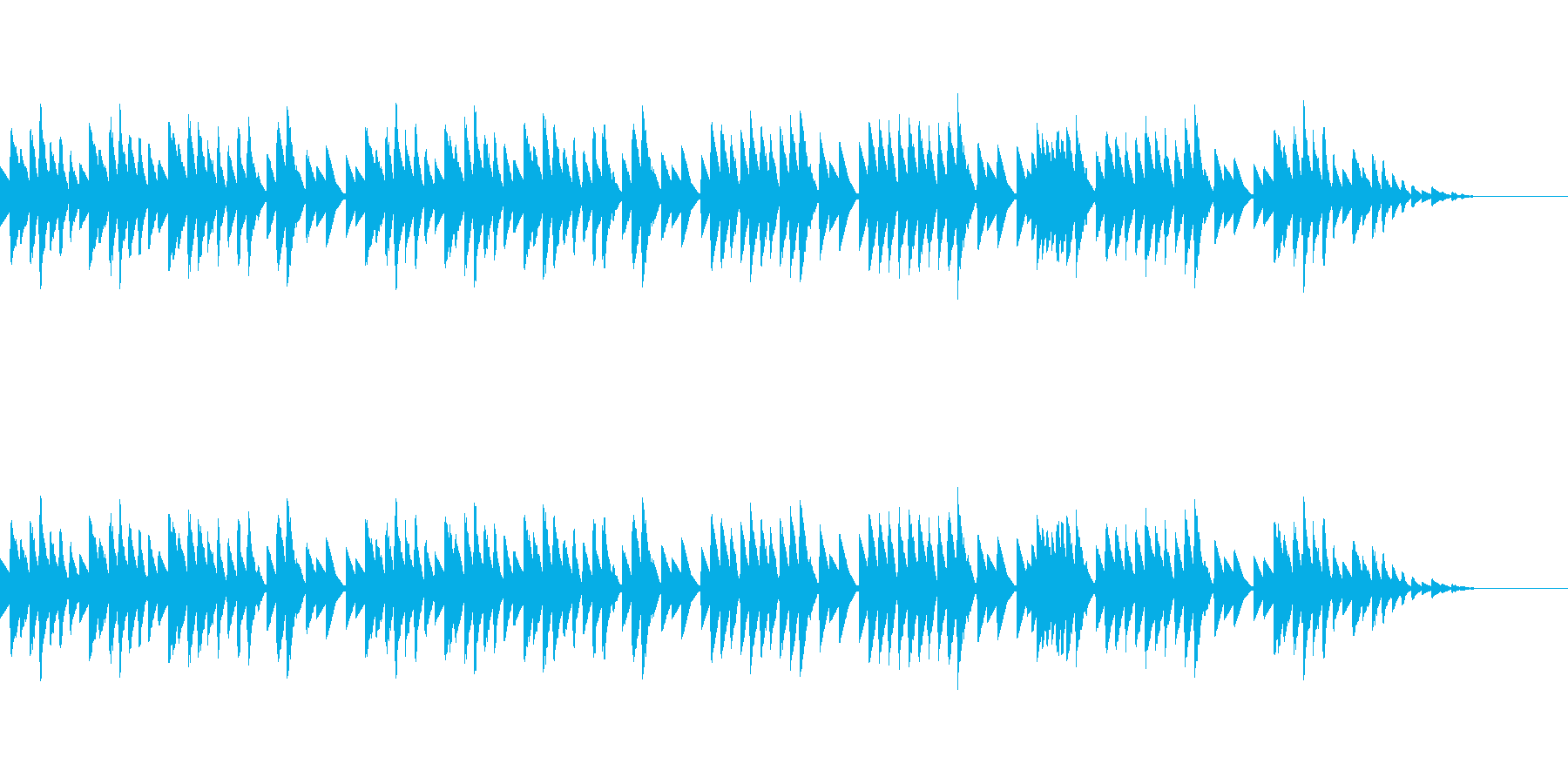 8bitクラシック-グノシエンヌ-の再生済みの波形
