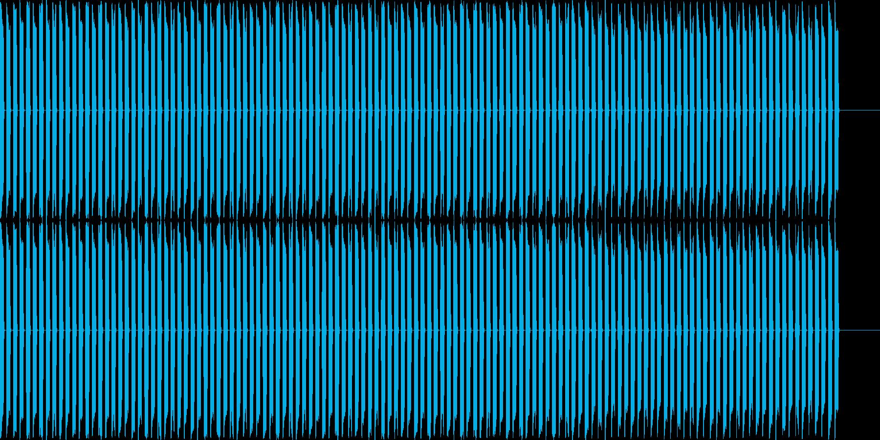ピピピピピピピピ!(電子音、機械音)の再生済みの波形
