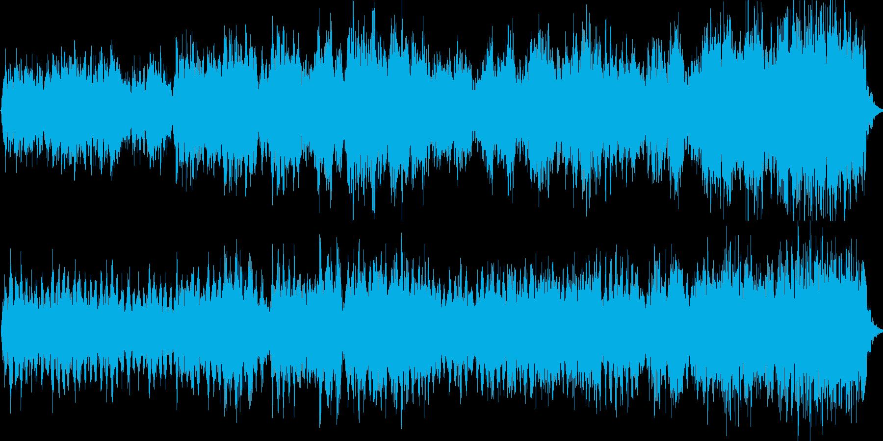 聖歌隊のような混声合唱曲ですの再生済みの波形