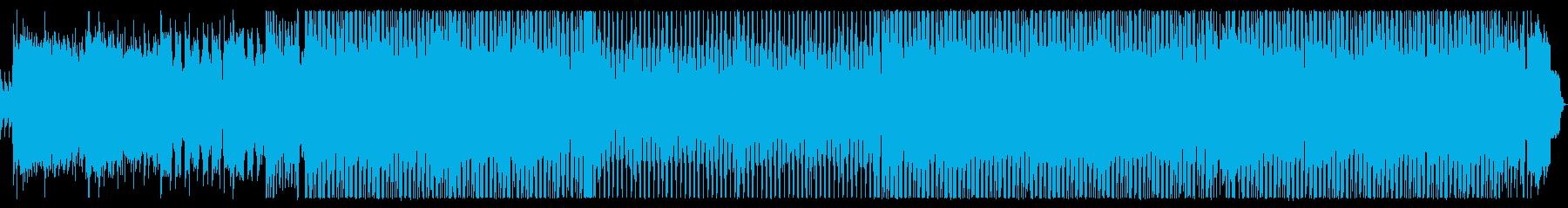 80年代ロックギターヒーロー的なインストの再生済みの波形
