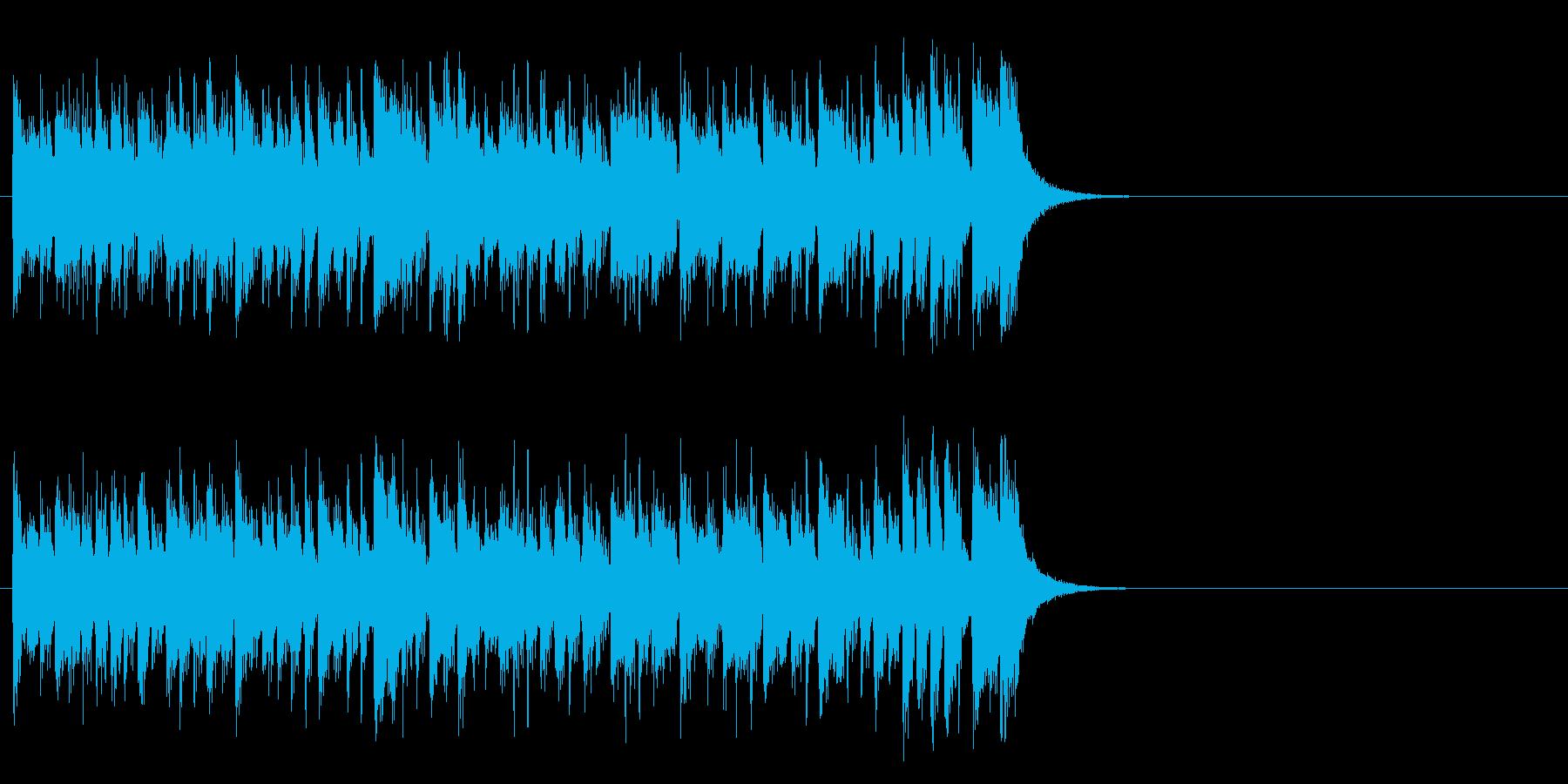 元気ハツラツOPポップス(イントロ)の再生済みの波形