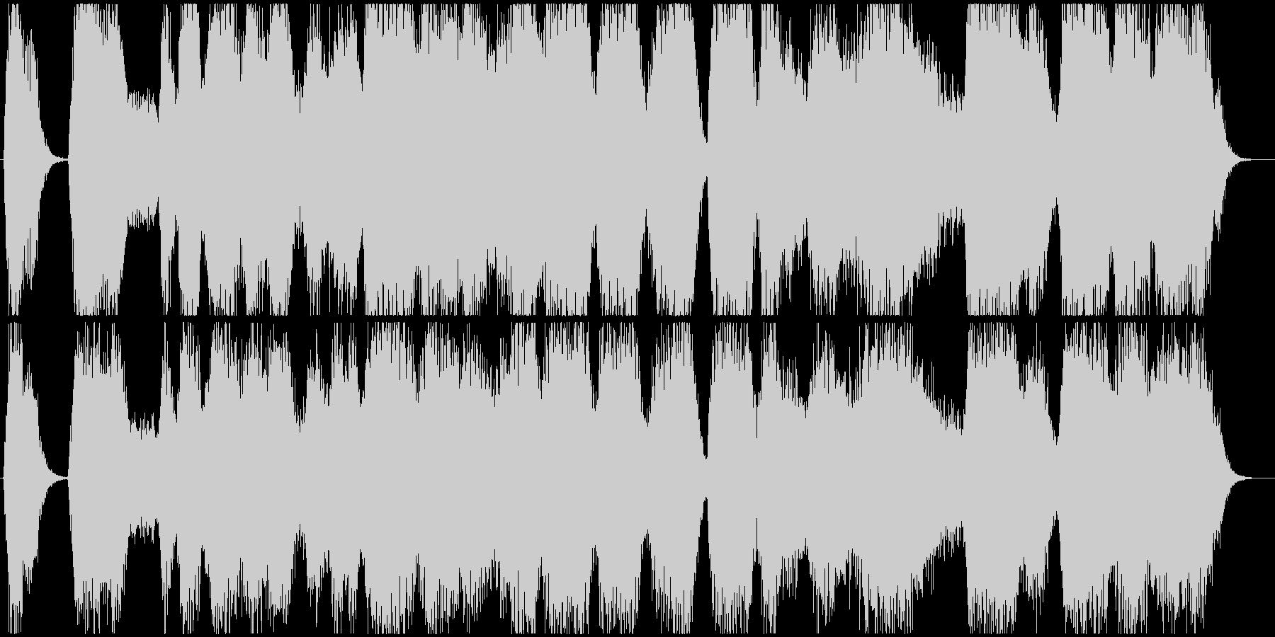 モンスター達の鳴き声の未再生の波形