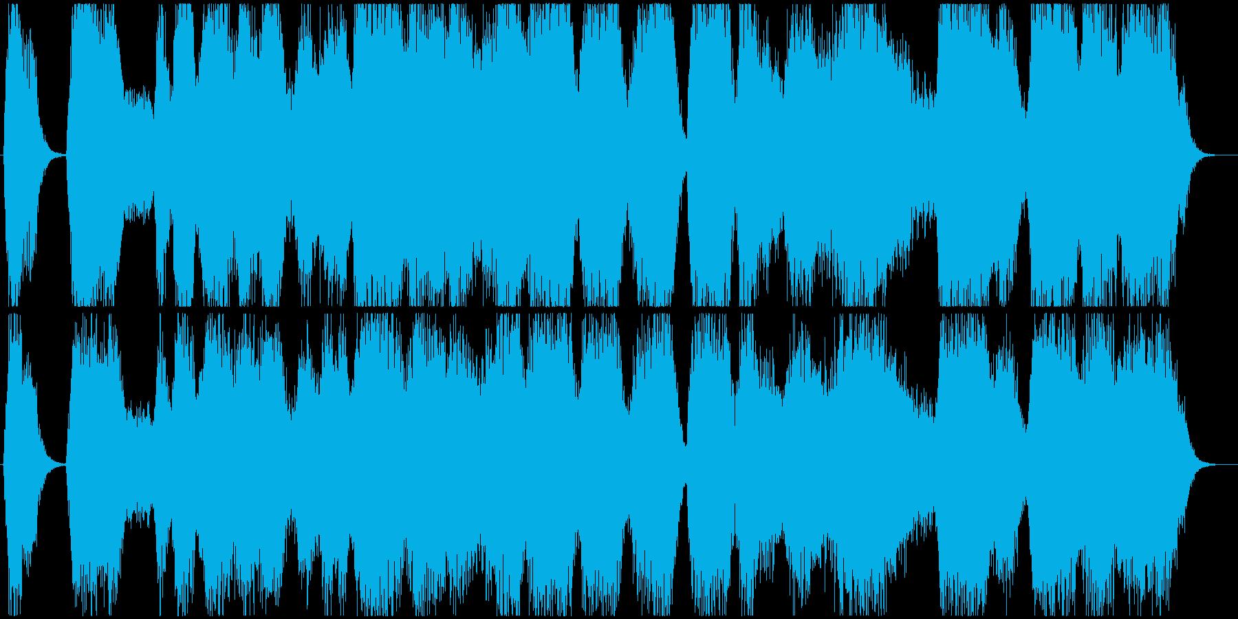 モンスター達の鳴き声の再生済みの波形
