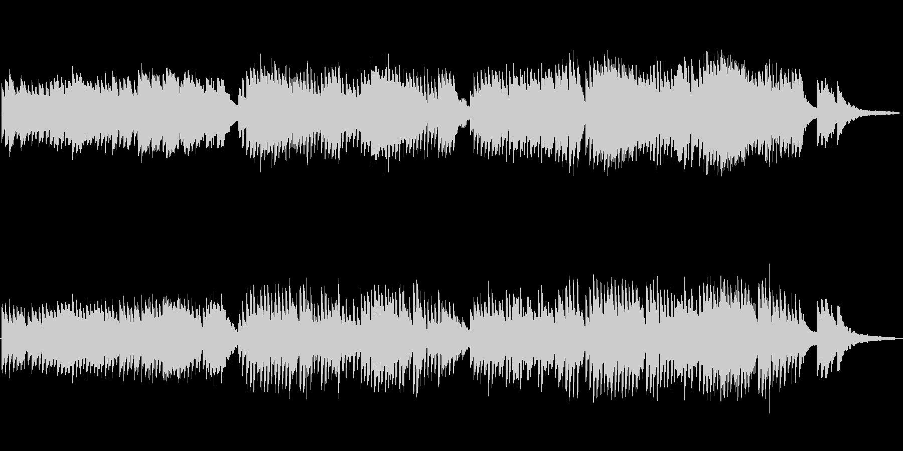 CM等で使えるほのぼのとしたピアノ曲の未再生の波形