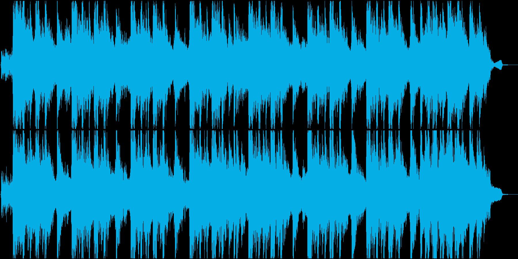 重厚でリズミカルなロックジングルの再生済みの波形