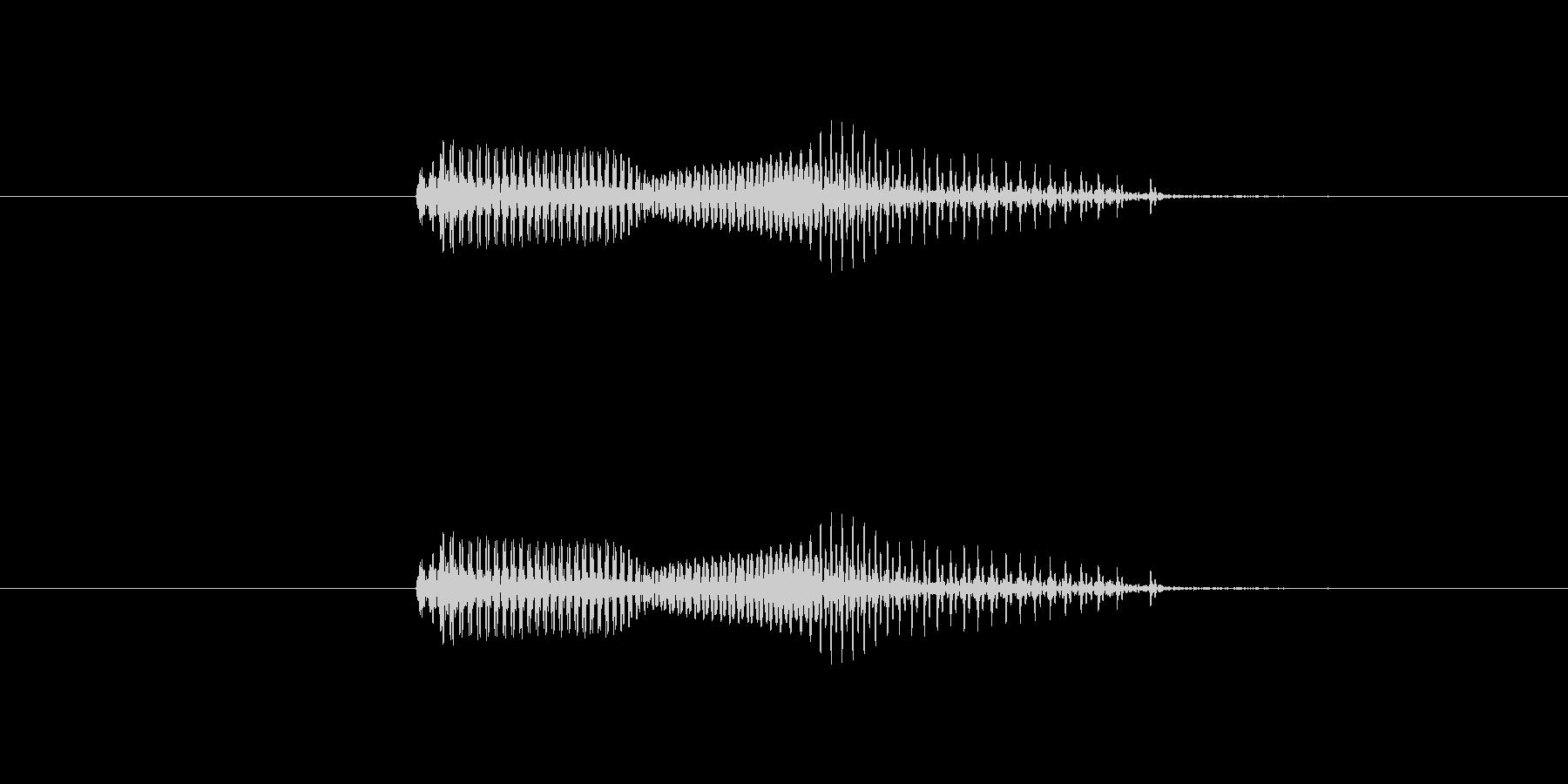【干支】午の未再生の波形