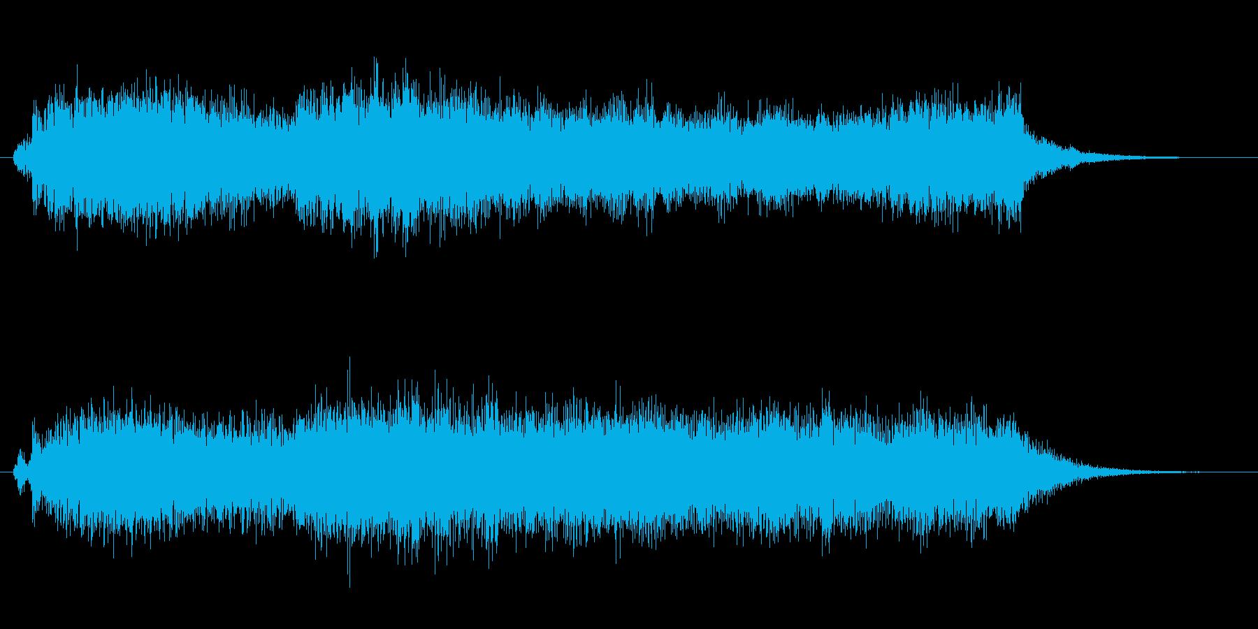 オーケストラでジャジャン ジャジャン6の再生済みの波形