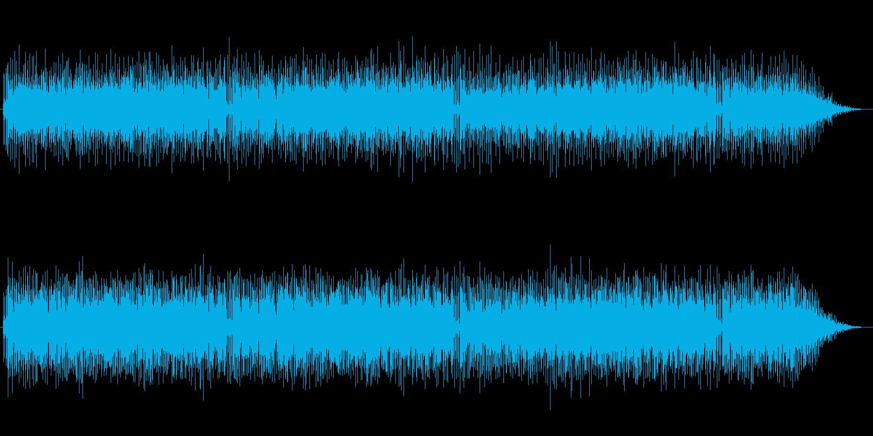 ノリのある軽いシャッフルの再生済みの波形