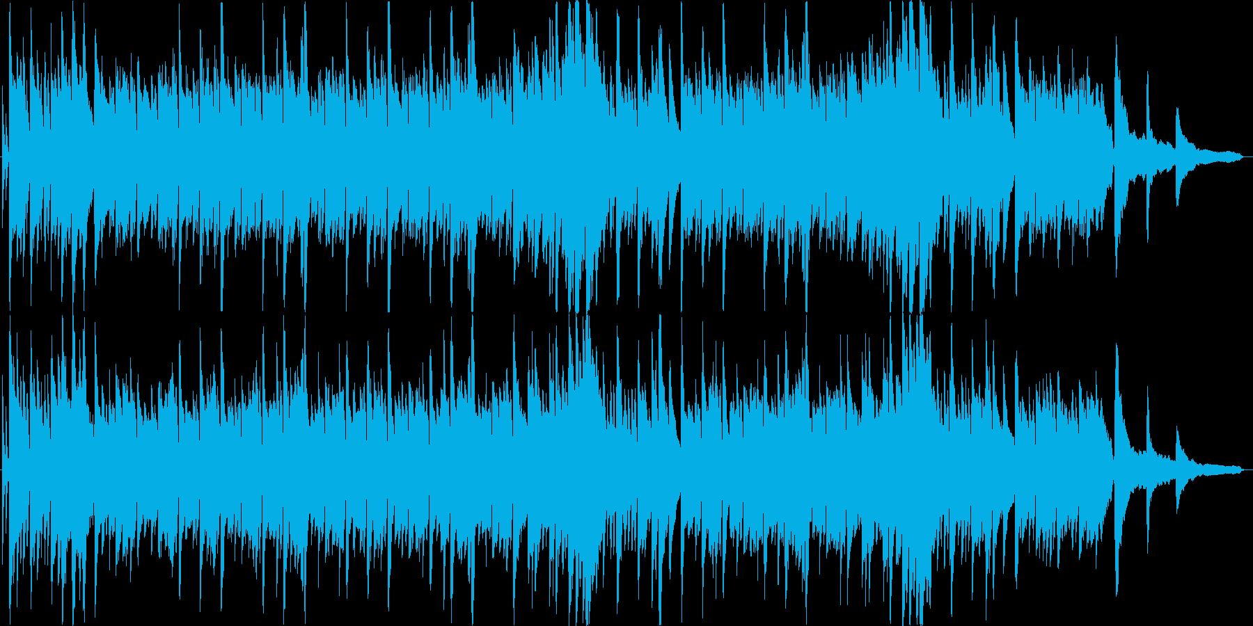 シンプルなピアノソロのBGMです。の再生済みの波形