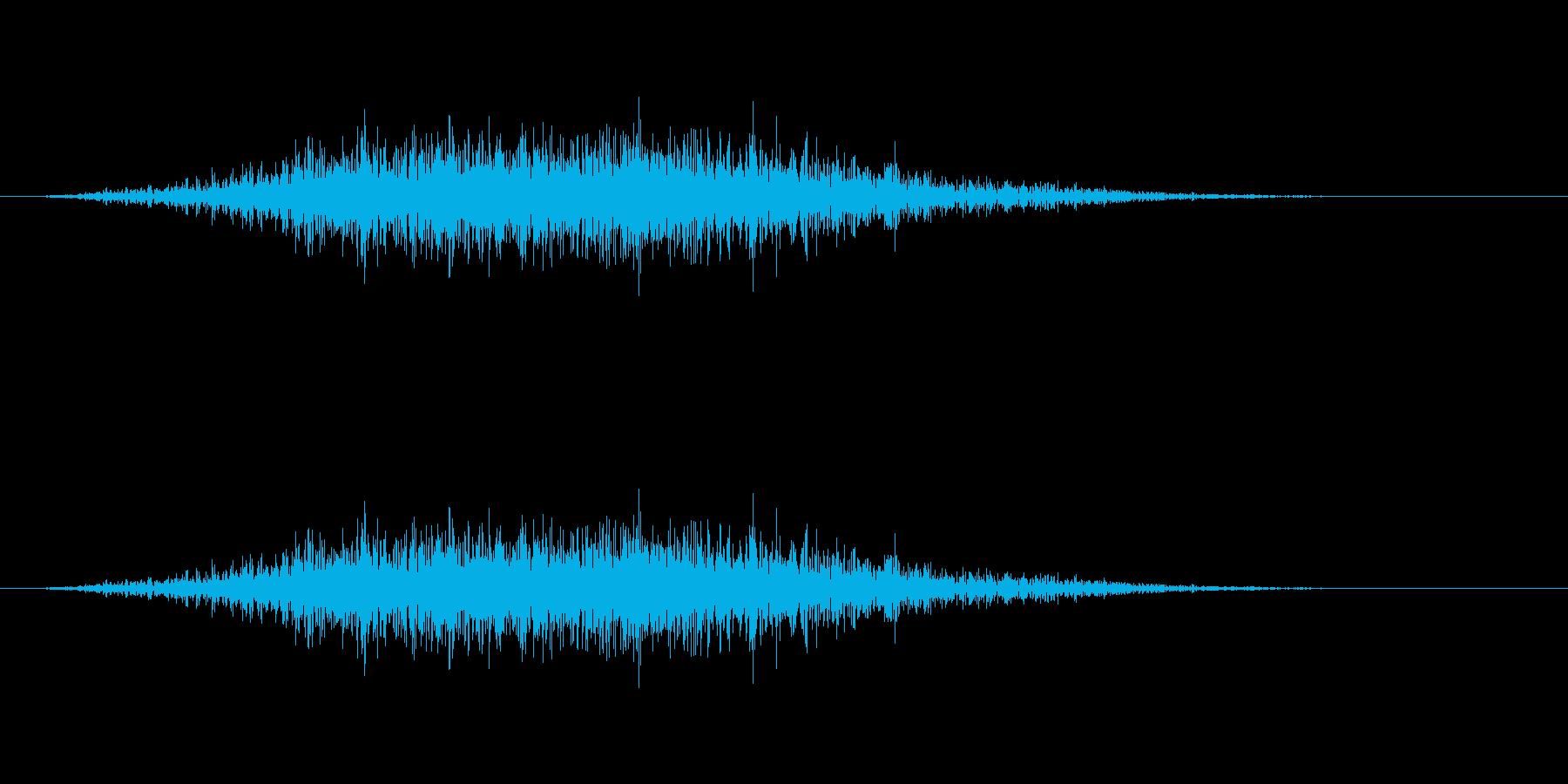 ふうおーの再生済みの波形