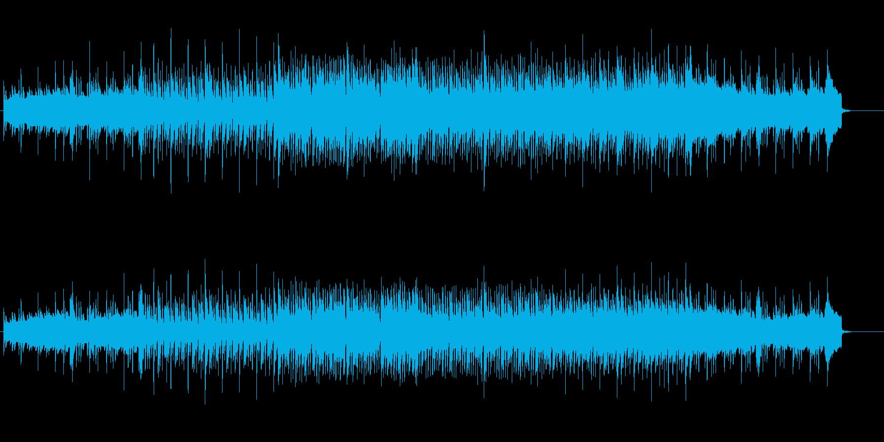 洗練されたエレクトリックなポップ/ロックの再生済みの波形