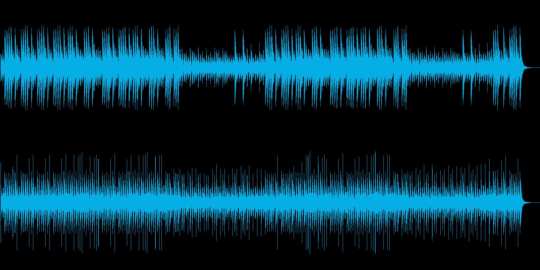 ダーク、ホラー向け悲しく切ないハープの再生済みの波形