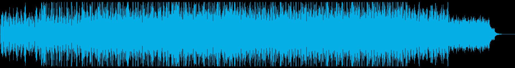 大人向け癒しのヒーリングミュージックの再生済みの波形