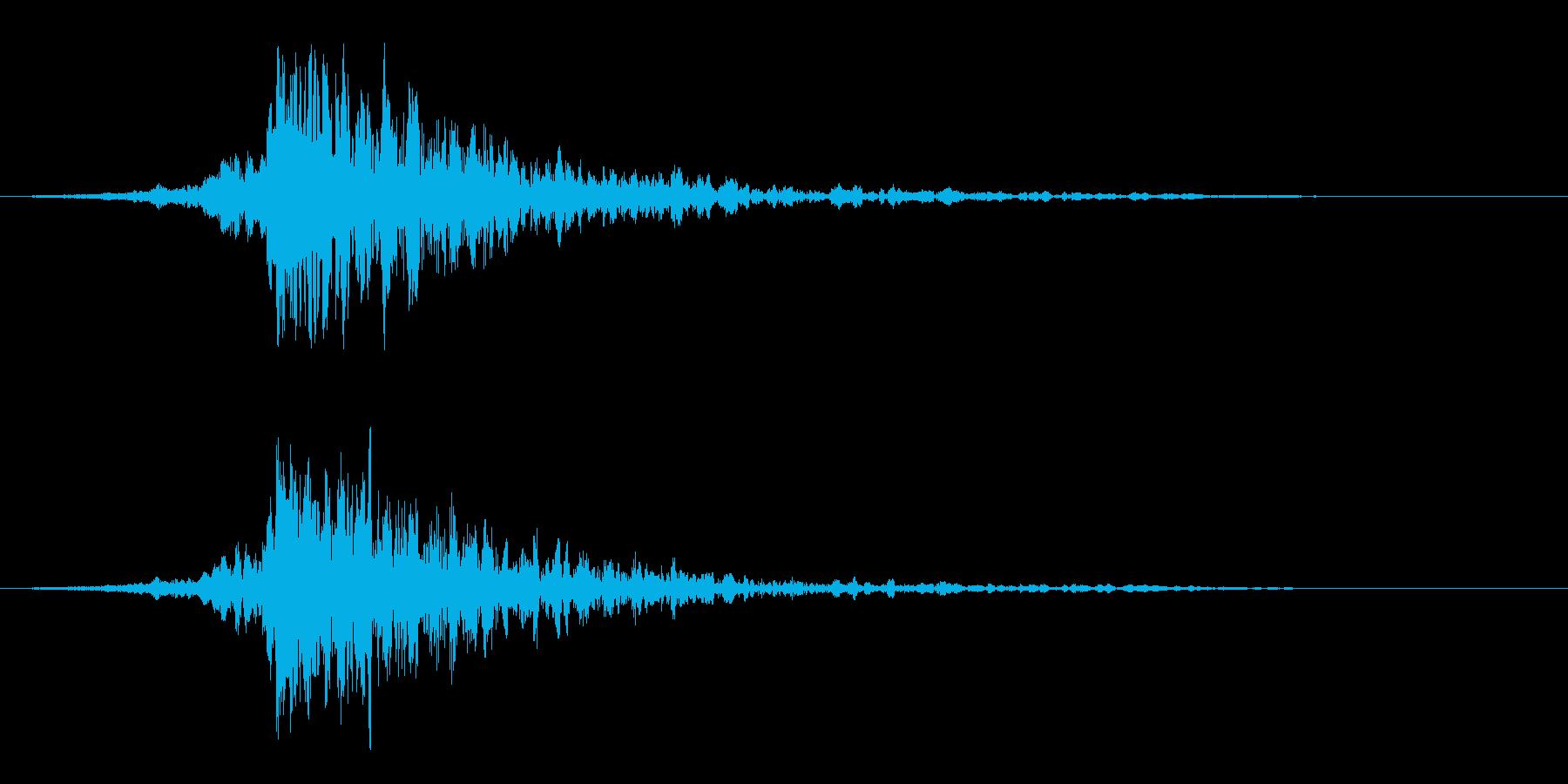 映画に合う効果音08の再生済みの波形