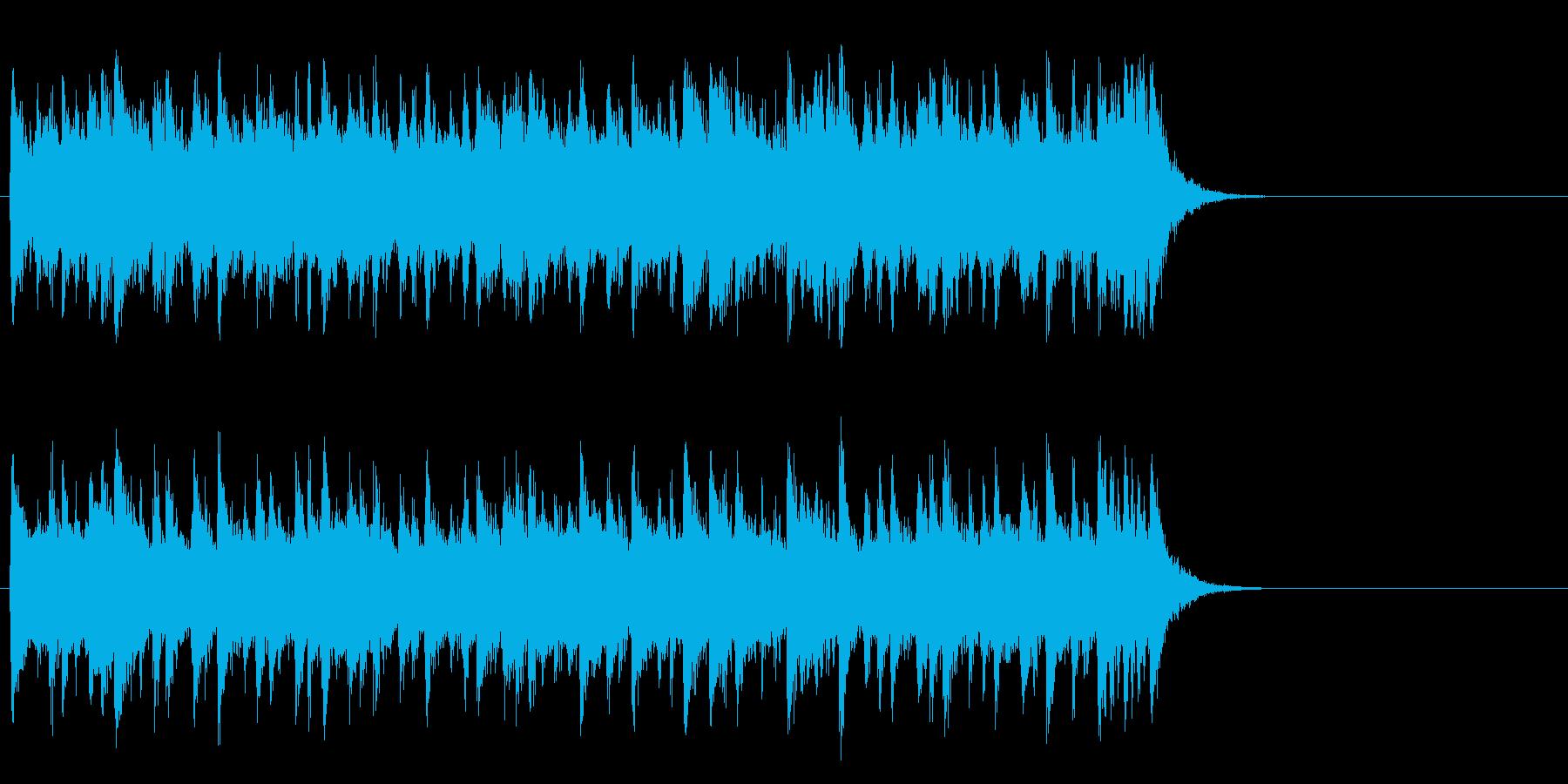 サイクリング向けポップス(サビ)の再生済みの波形