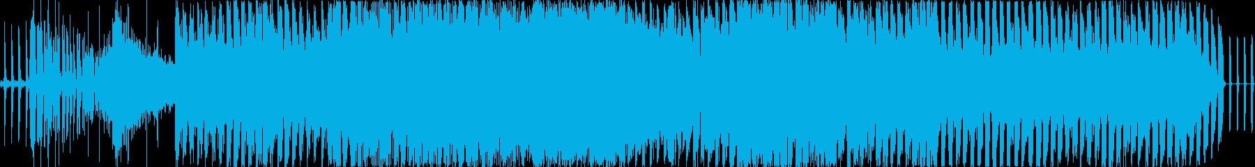 ホラー感のある爆発的なノリノリ・トランスの再生済みの波形