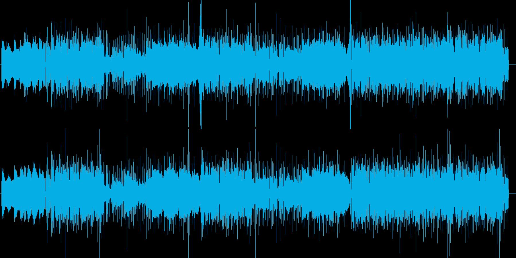 大人な雰囲気のアシッドジャズの再生済みの波形